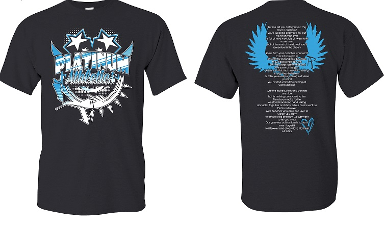 Athlete S Poem Is The Basis For Platinum S New Shirt